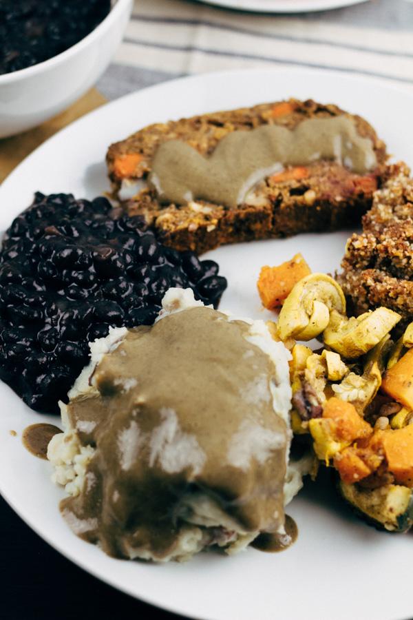Vegan Mushroom Gravy Recipe (Gluten Free) - Sprouting Zen