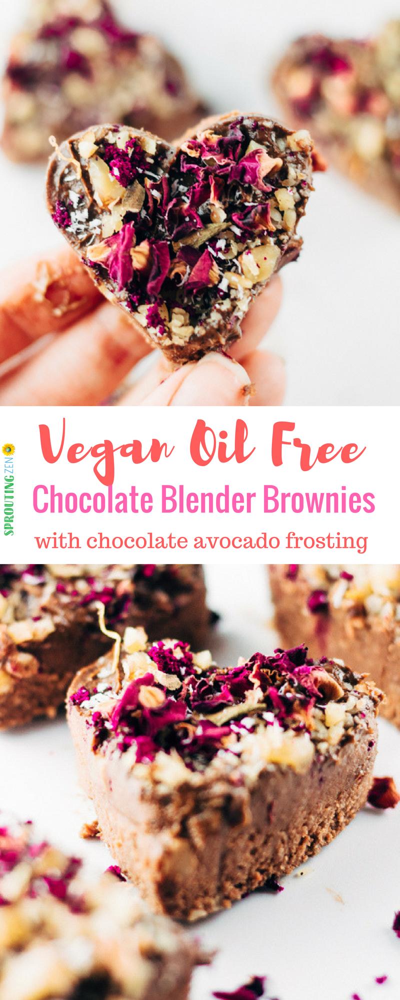 Vegan Chocolate Brownies + Cook Book GIVEAWAY! #VEGAN #PLANTBASED #WHATVEGANSEAT #VDAYRECIPES