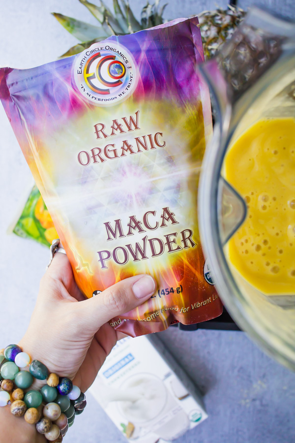 A Maca Powder Package