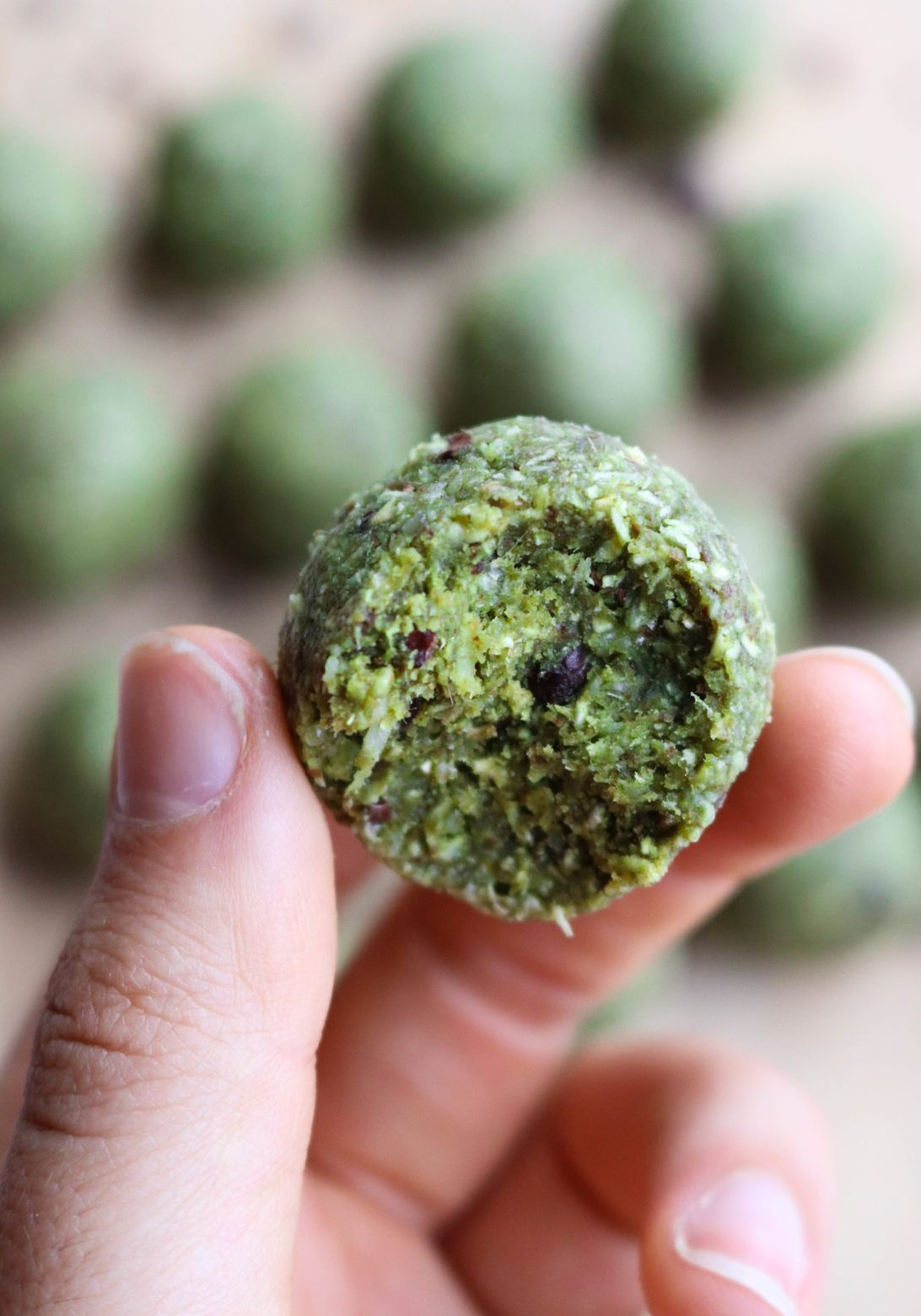 Coconut_Matcha_Chocolate_Chip_Bliss_Balls_FromMyBowl-4-1170x1560