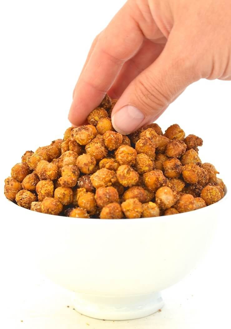 cheese-onion-roasted-chickpeas