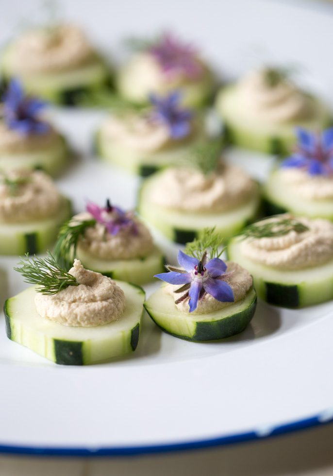 cucumber-canapes-with-sunflower-seed-pate-and-dill
