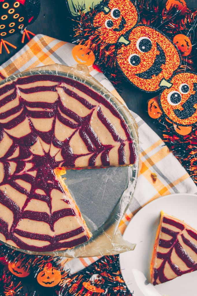 raw vegan halloween pie