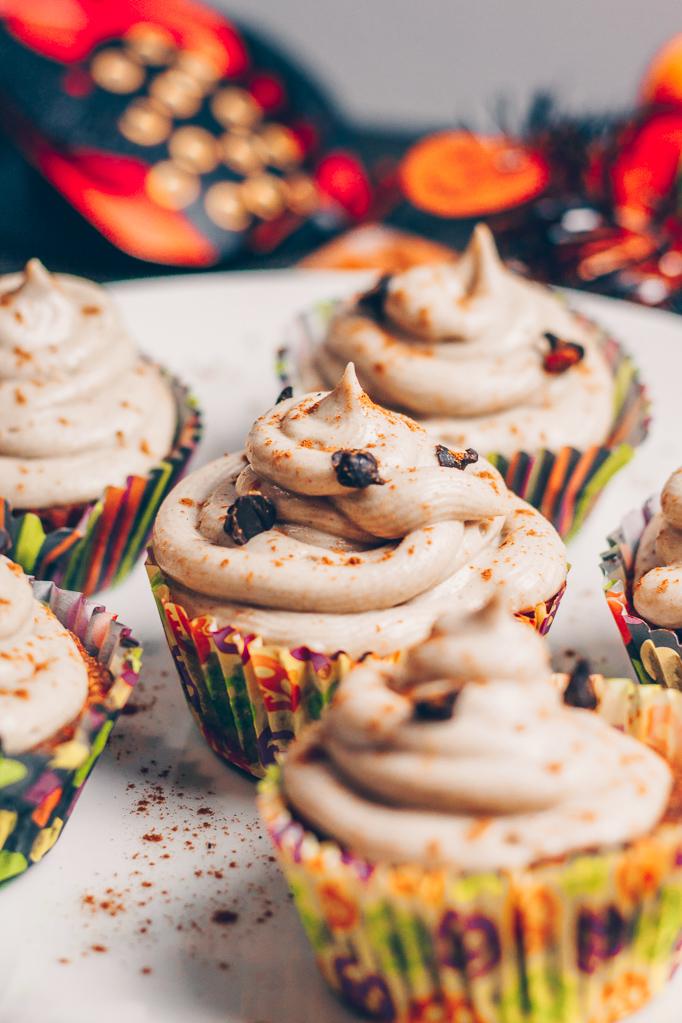 halloween raw vegan cupcakes