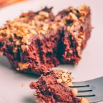 Purple Sweet Potato Brownie (vegan, sugar free, oil free) | SproutingZen.com