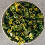 Dehydrated Vegan Cheezy Broccoli Chips