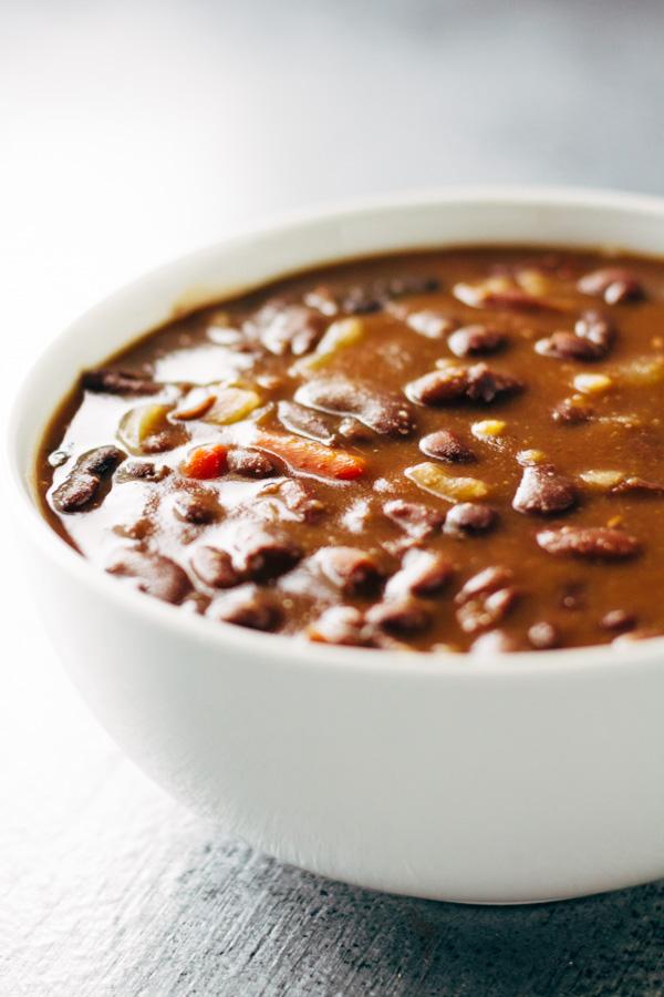 Vegan Red Kidney Bean Soup Recipe Sprouting Zen
