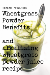 wheat grass juice recipe