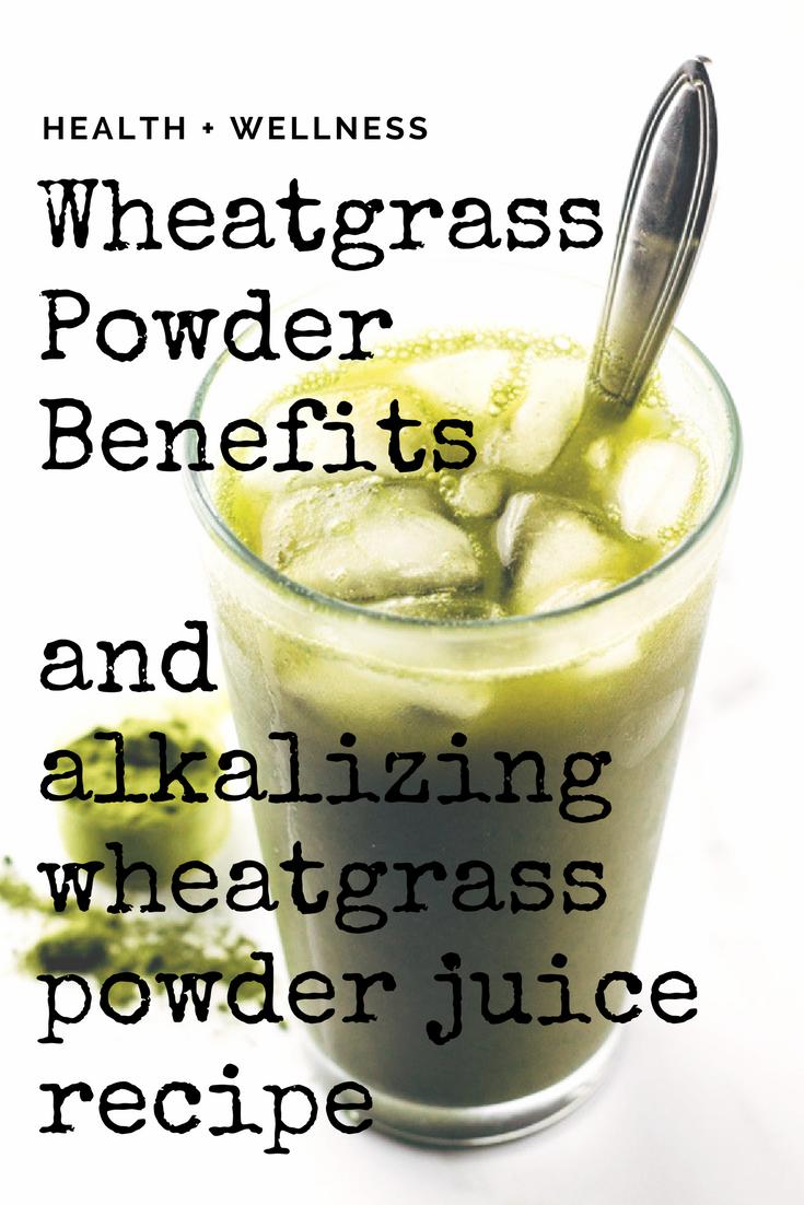 wheat grass juice recipe
