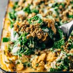 Healthy Vegan Buffalo Cauliflower Casserole Recipe