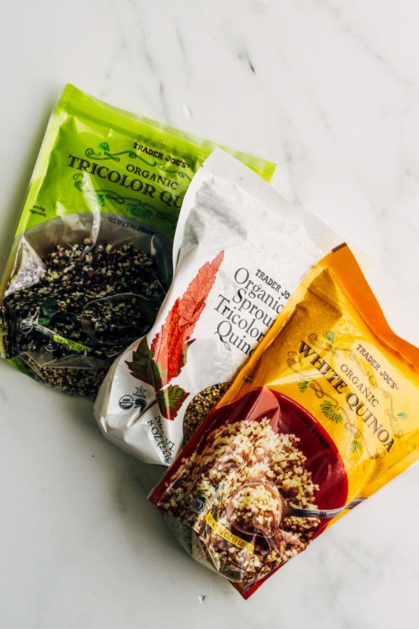 Trader Joe's Quinoa products