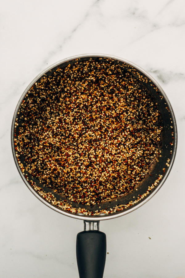 how to cook tricolor quinoa