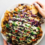 The Best Homemade Vegan Loaded Nachos Recipe Ever
