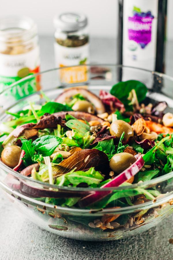 Salad Recipes Mixed Greens