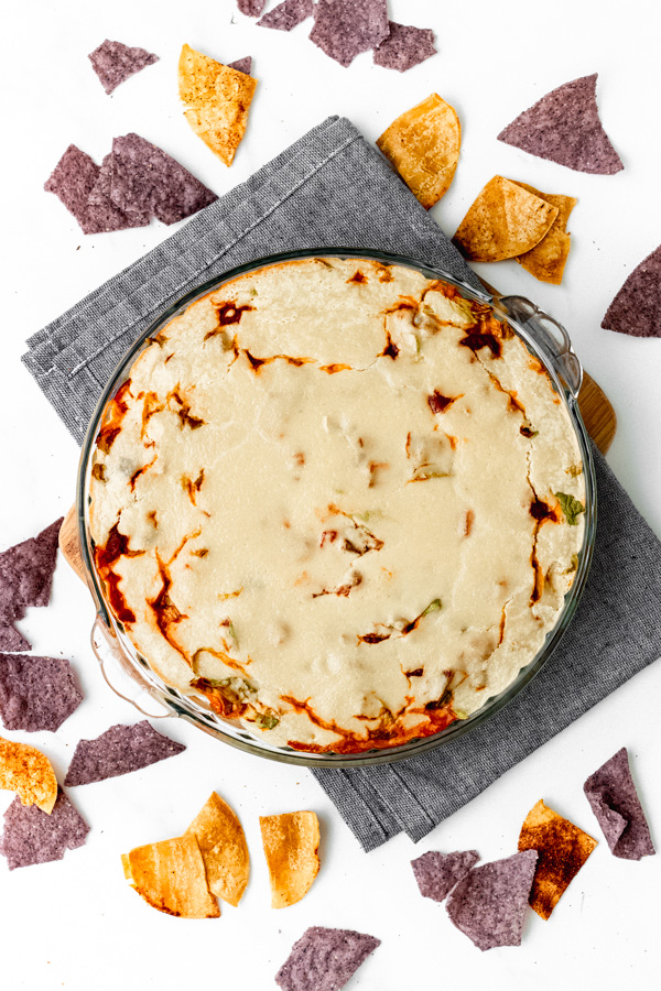 Vegan Refried Black Bean Layered Dip Oil Free | Sprouting Zen
