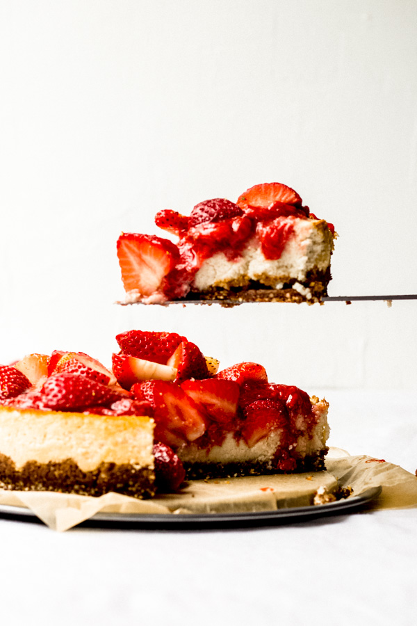 vegan strawberry cheesecake recipe