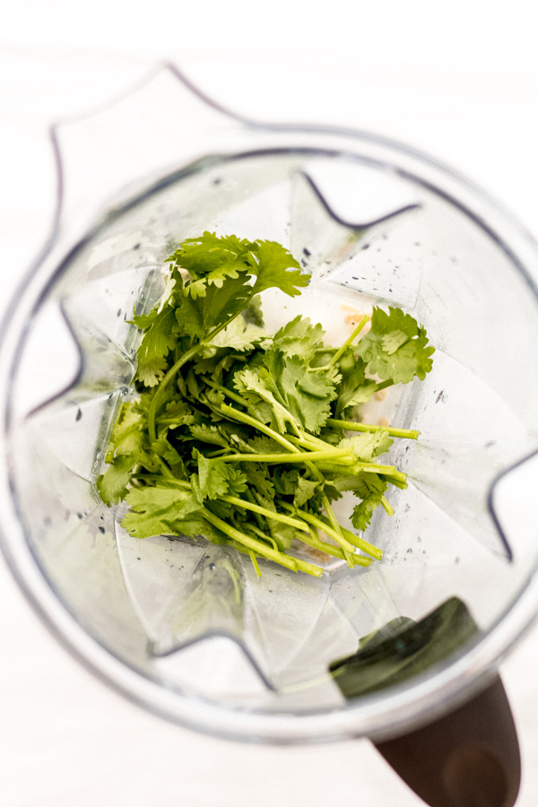 vegan cilantro sunflower seed sauce