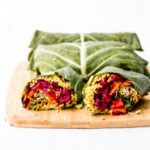 vegan collard wraps curry quinoa