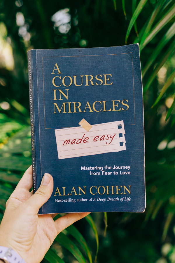 The book A Course In Miracles