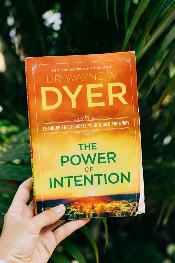The book The Power of Intention