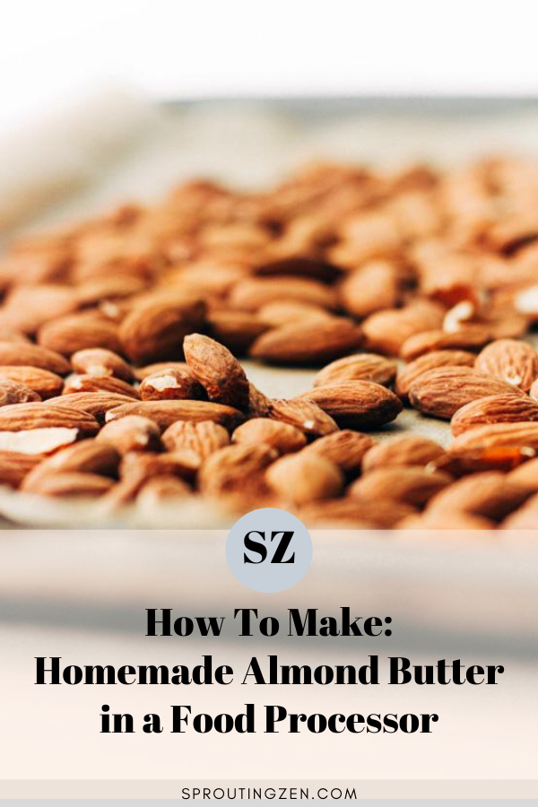 How to make homemade almond milk at home using a blender | Sprouting Zen