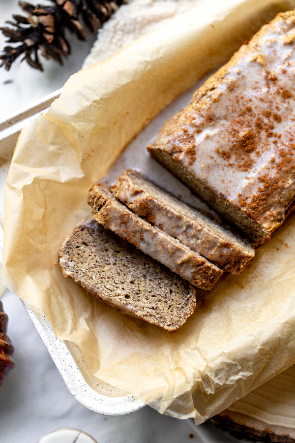 Easy Healthy Vegan Paleo Banana Bread Recipe