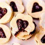 vegan paleo easy healthy linzer cookies
