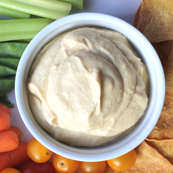 oil free vegan hummus