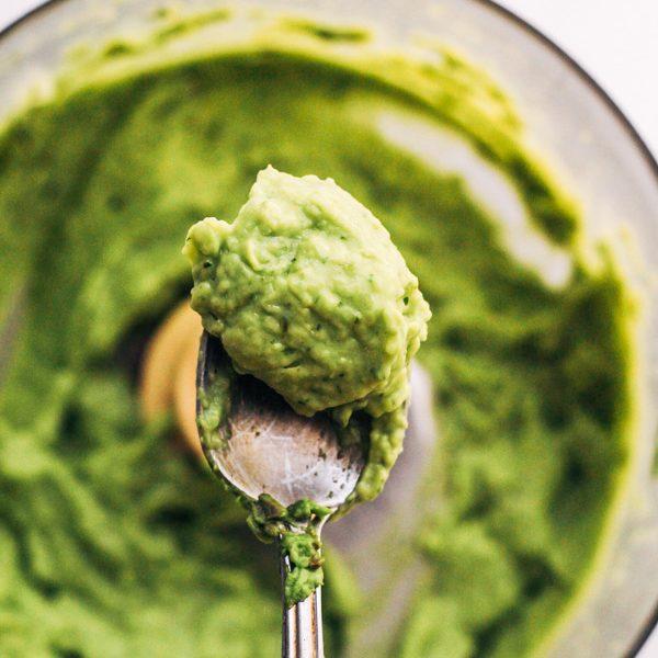 vegan guacamole recipe using food processor