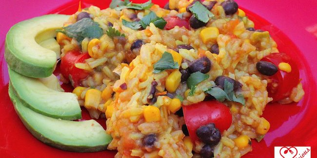Vegan Mexican Fiesta Rice