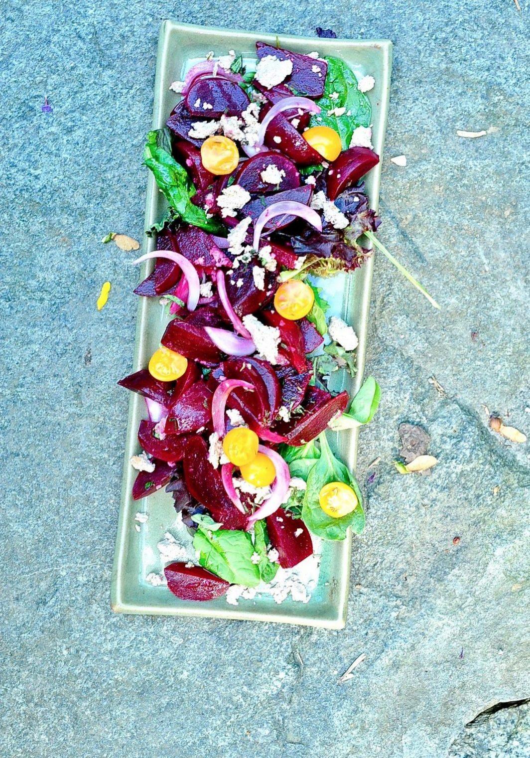 Roasted-Beet-Salad-with-Lemon-Dressing-and-Vegan-Feta-5