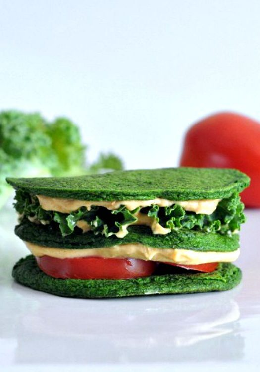 Spinach-Pancakes