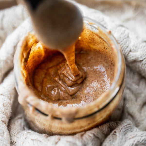 almond butter homemade | Sprouting Zen