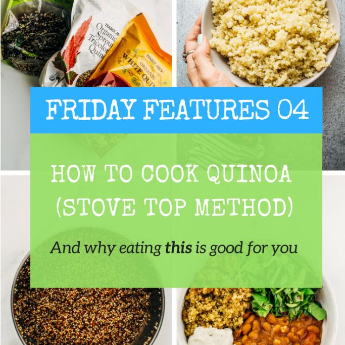 how to cook quinoa stovetop