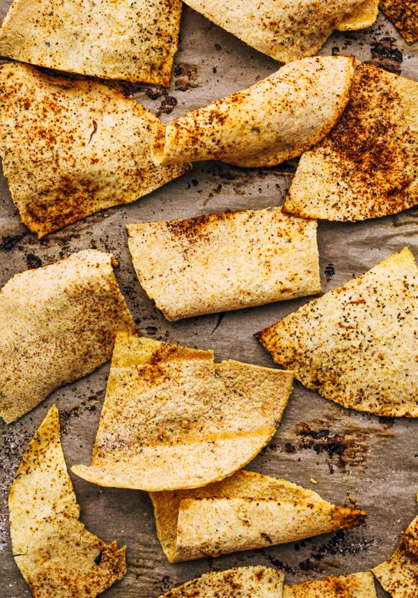 how to make homemade oven baked tortilla chips