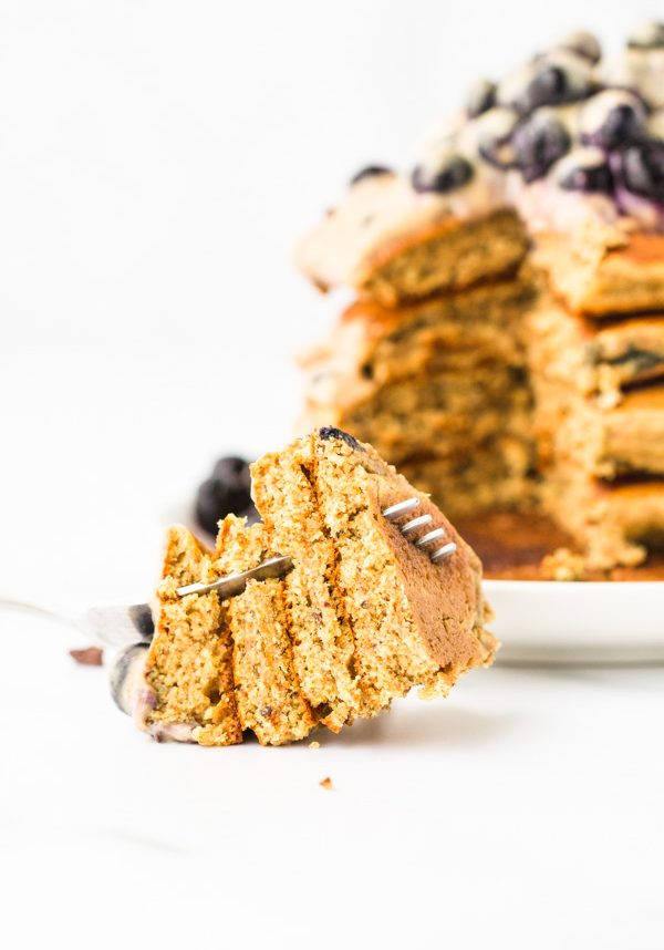 oil free vegan spelt pancakes recipe
