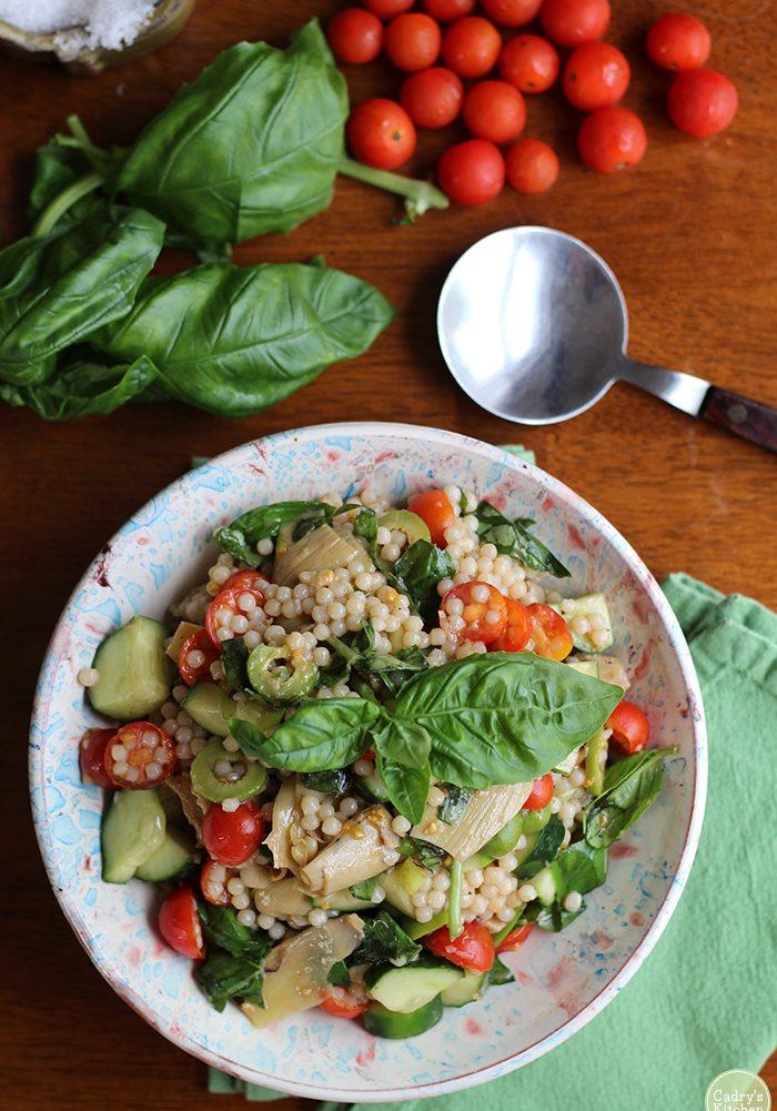 overhead-israeli-couscous-salad