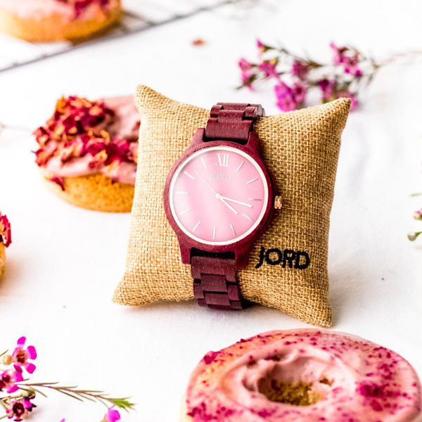 pink rosy vegan cake donut recipe (12 of 14)