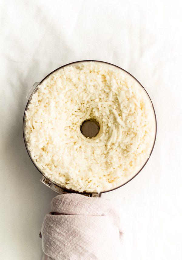 easy homemade cauliflower rice