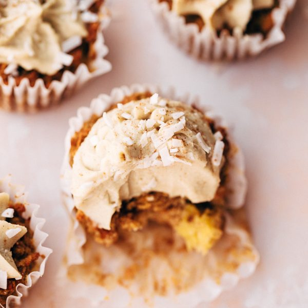 vegan paleo carrot cake pineapple cupcakes (7 of 8)